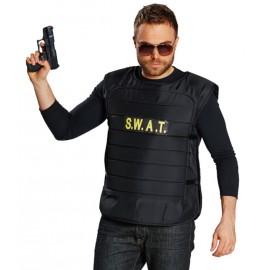 Déguisement gilet swat homme