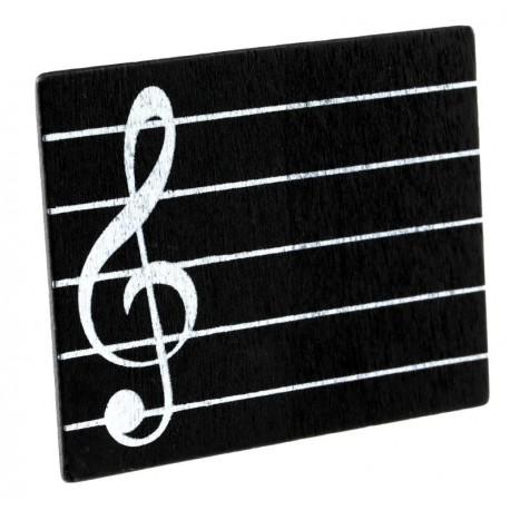 Marque-place musique en bois les 2