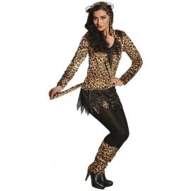 Déguisement léopard femme