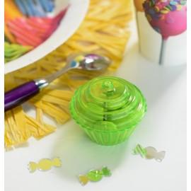 Confettis de table miroir bonbon les 10