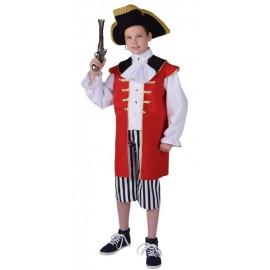 Déguisement pirate garçon luxe