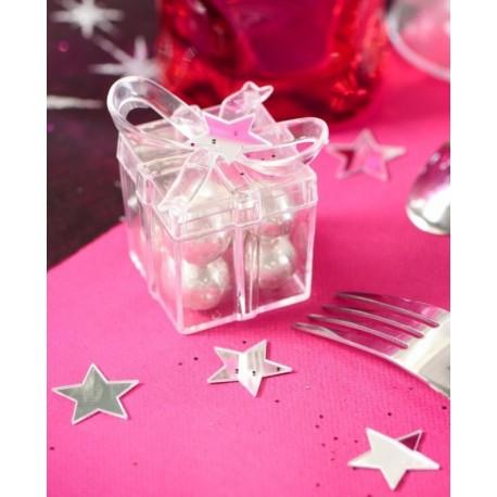 Confettis de table miroir étoile les 10