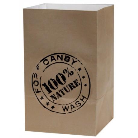 Photophore papier naturel 100% nature 10 cm les 60