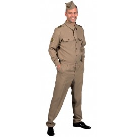 Déguisement militaire GI 1940's homme luxe