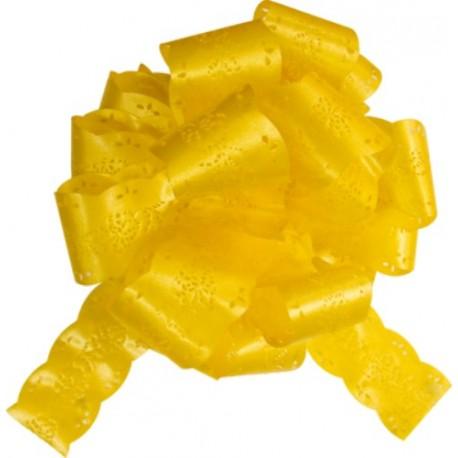 Noeud automatique dentelle jaune les 5