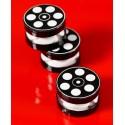 Boîtes à dragées cinéma 4 cm les 6