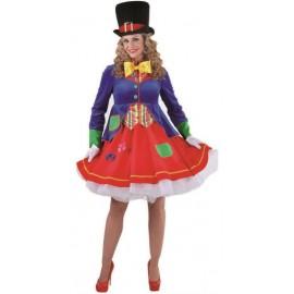 Déguisement clown lucky femme luxe