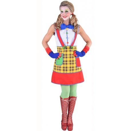 Déguisement clown coco femme luxe