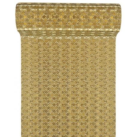 Ruban fantaisie or métallisé 10 cm x 5 M