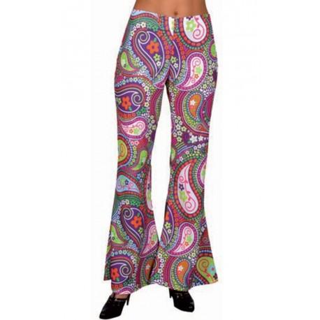 Déguisement pantalon hippie chic femme luxe