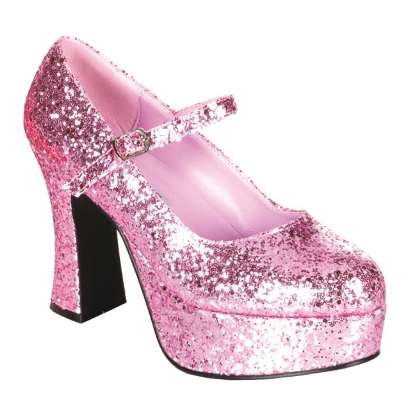 chaussures paillettes roses femme. Black Bedroom Furniture Sets. Home Design Ideas