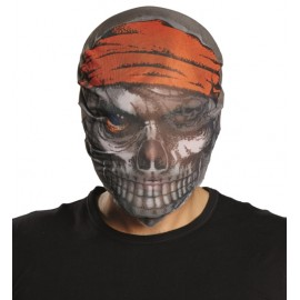 Masque pirate en tissu adulte