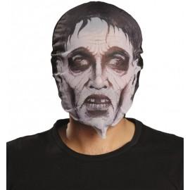Masque zombie en tissu adulte