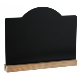Marque table ardoise vintage 19.9 x 15 cm