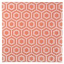 Serviettes de table vintage corail papier les 20