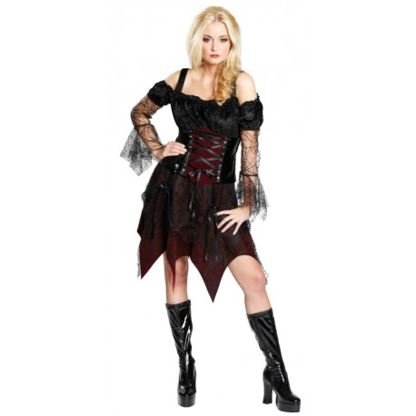 Déguisement reine gothique femme luxe