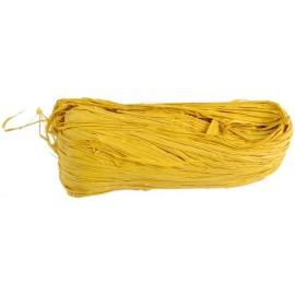 Raphia naturel jaune pelote 50 g