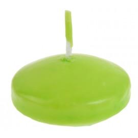Bougie flottante vert anis les 40