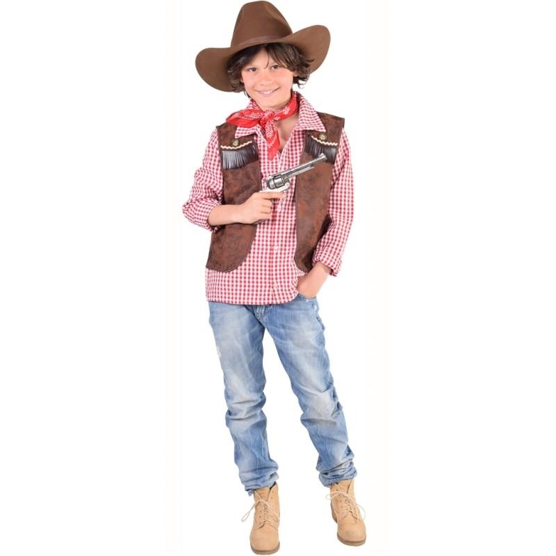 d guisement gilet cowboy gar on luxe. Black Bedroom Furniture Sets. Home Design Ideas