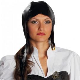 Bonnet aviateur steampunk adulte