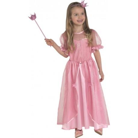 Déguisement princesse rose enfant fille