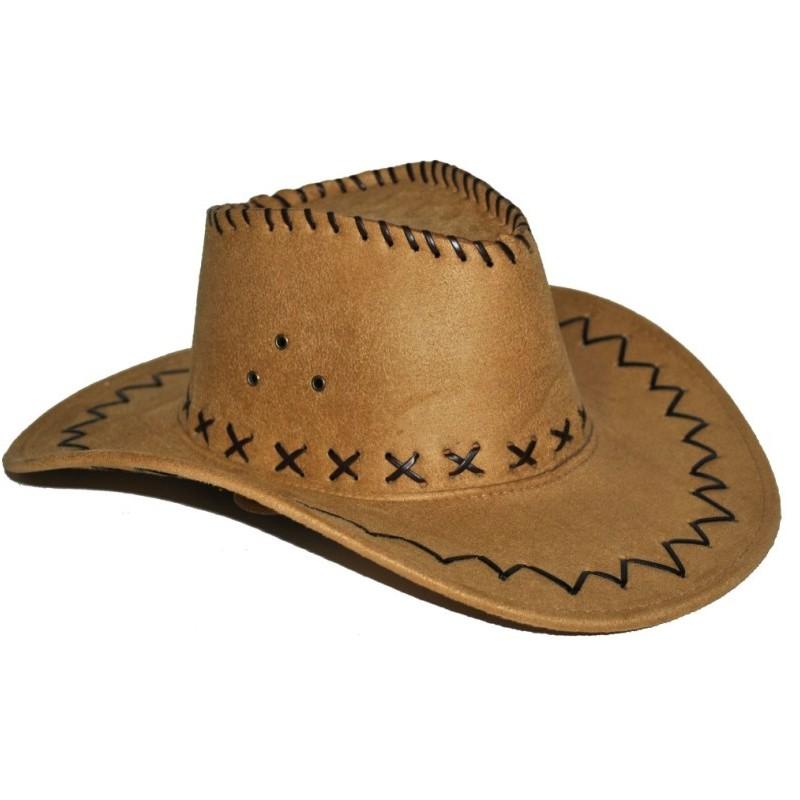 chapeau cowboy marron adulte. Black Bedroom Furniture Sets. Home Design Ideas