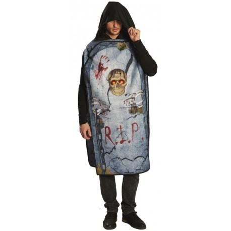 Déguisement pierre tombale homme Halloween