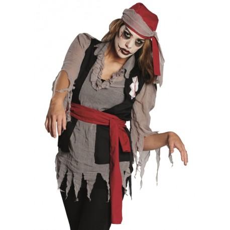 d guisement pirate zombie femme achat d guisements zombie adulte. Black Bedroom Furniture Sets. Home Design Ideas