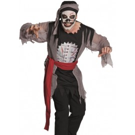 Déguisement pirate zombie homme