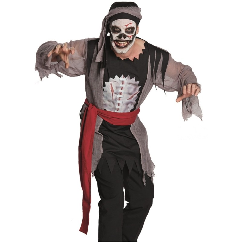 Maquillage pirate homme zombie - Maquillage pirate homme ...