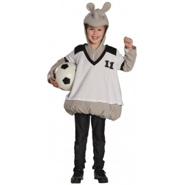 Déguisement rhinocéros footballeur garçon