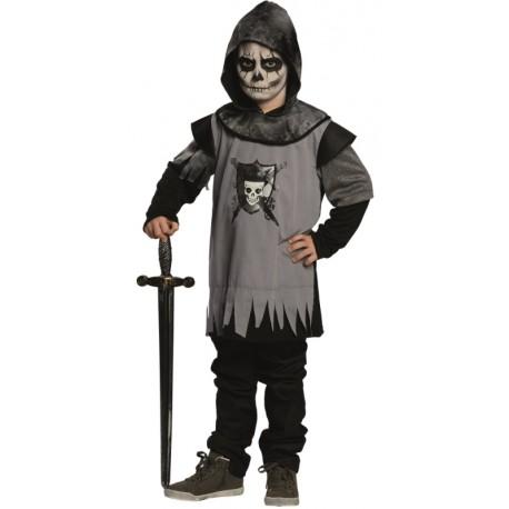 Déguisement squelette chevalier garçon
