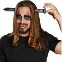 Serre-tête clou ensanglanté adulte Halloween