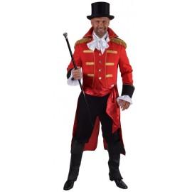 Déguisement manteau amiral rouge homme luxe
