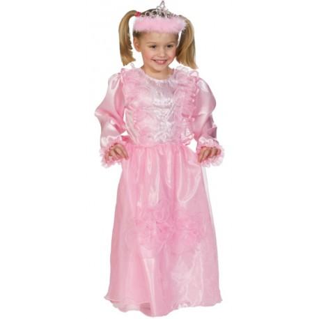 Déguisement princesse fille rose
