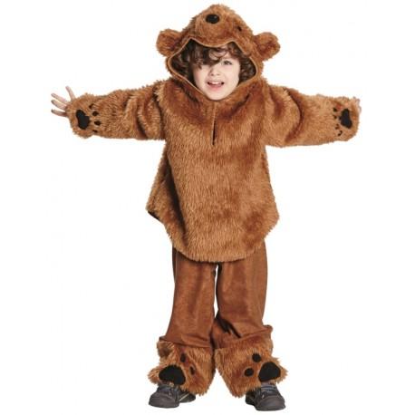 Déguisement ours enfant luxe