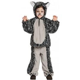 Déguisement chat tigré enfant luxe