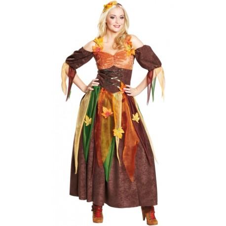 Déguisement fée automne femme