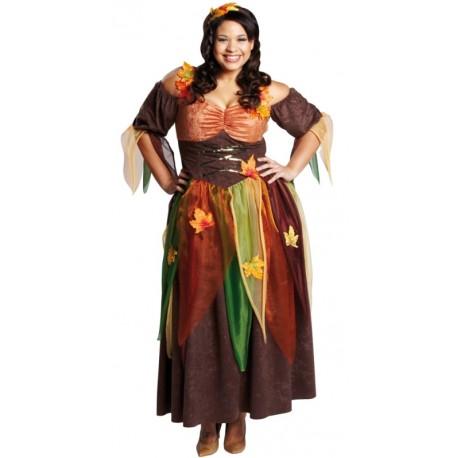 Déguisement fée automne femme grande taille