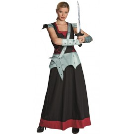 Déguisement guerrière dragon femme