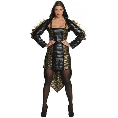 Déguisement dragon femme luxe
