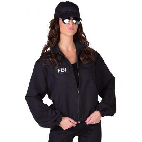 Déguisement veste agent FBI femme luxe