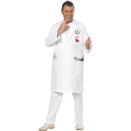Déguisement blouse docteur love homme