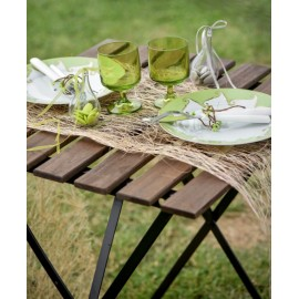 Chemin de table abaca naturel 5 M