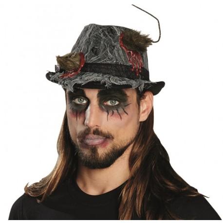Chapeau Fedora Halloween adulte