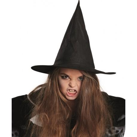 Chapeau sorcière noir fille Halloween