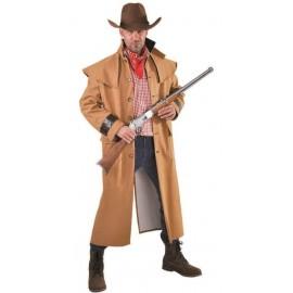 Déguisement manteau cowboy homme luxe