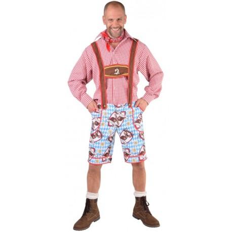 Déguisement pantalon tyrolien Alm Hirsch homme luxe