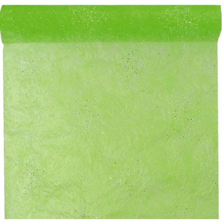 chemin de table diamant vert anis achat chemin de table pas cher. Black Bedroom Furniture Sets. Home Design Ideas