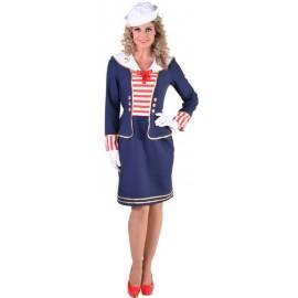 Déguisement marin femme luxe